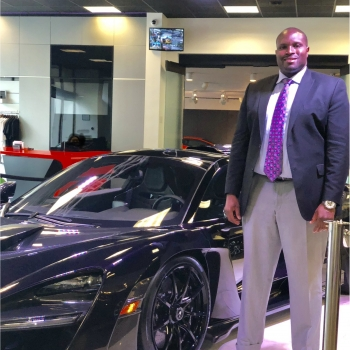 Sales Consultant Fredrick  Giles in Our Team at MotorCars of Atlanta