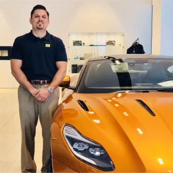 Service Advisor/Aston Martin and Lamborghini Joe Alú in Our Team at MotorCars of Atlanta