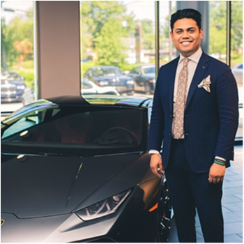 Sales Consultant/Lamborghini and Rolls-Royce Brand Ambassador Kenny Rodriguez in Our Team at MotorCars of Atlanta