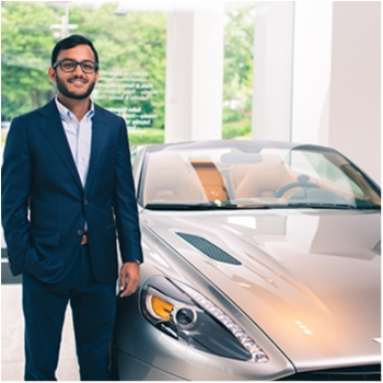Sales Assistant & Photographer Parth Desai in Our Team at MotorCars of Atlanta