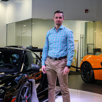 Service Director Max Landes in Our Team at MotorCars of Atlanta