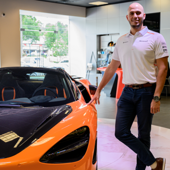 Service Advisor | McLaren and Rolls-Royce Isaac Robles in Our Team at MotorCars of Atlanta