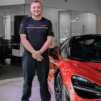 Assistant Parts Manager Damon Hill in Our Team at MotorCars of Atlanta