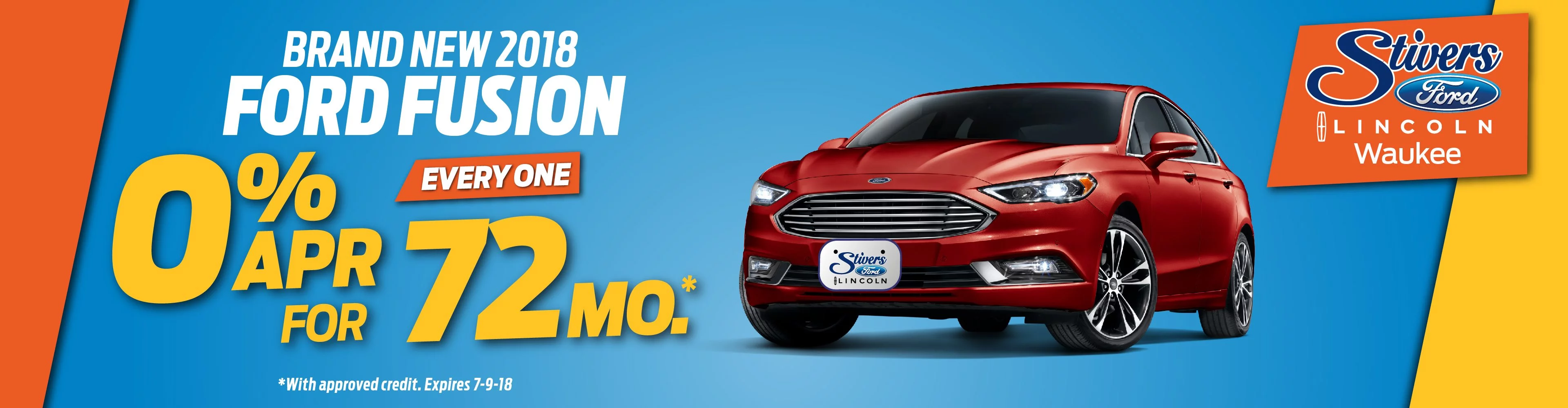 Ford Fusion Banner