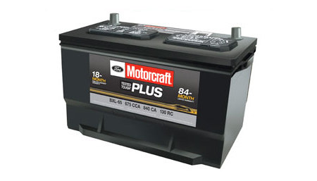 Motorcraft Tested Tough Plus Batteries