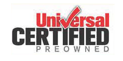 universal certified pre-owned logo