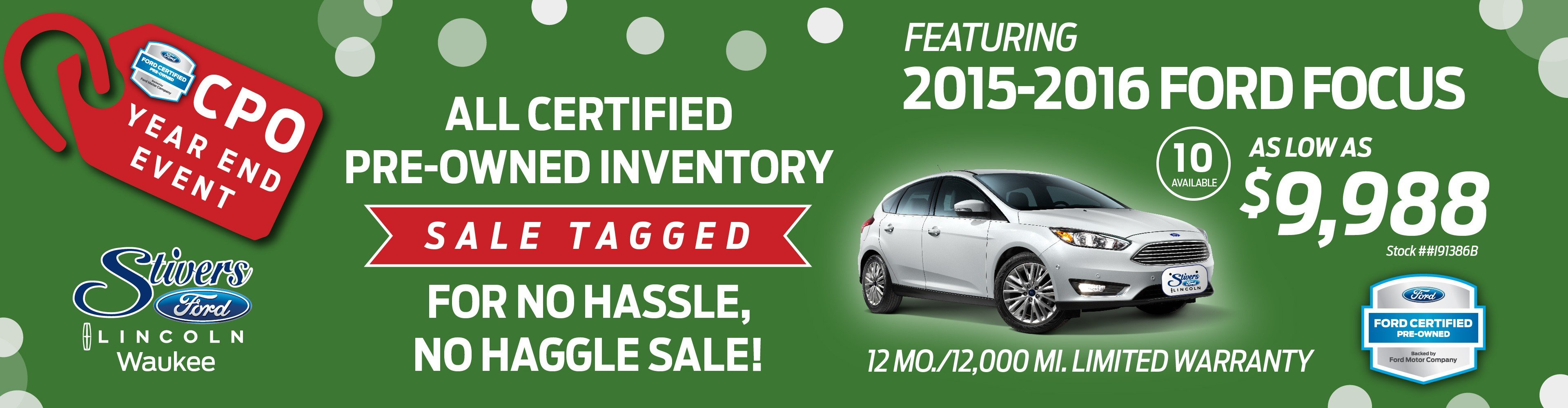 certified pre-owned event
