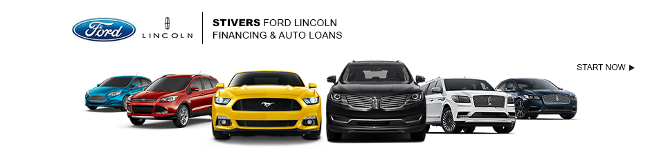 auto loan credit banner Stivers Ford Lincoln