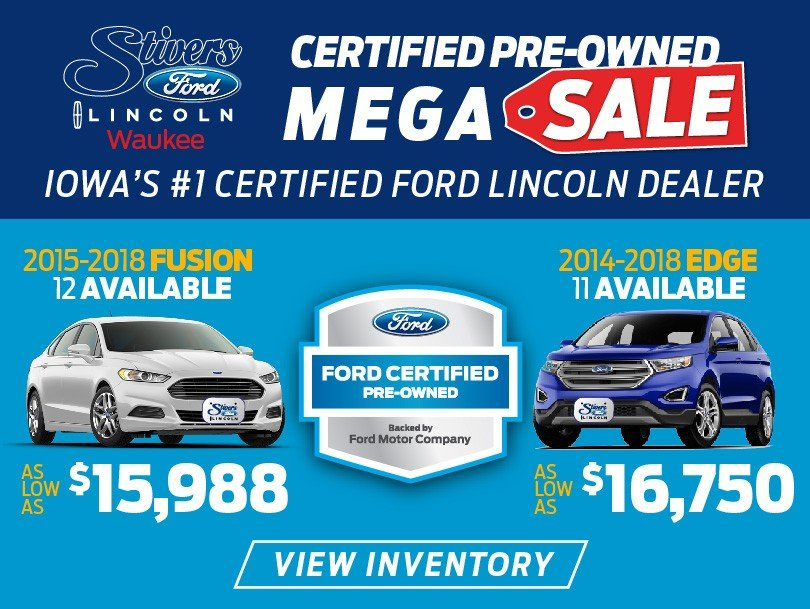 stivers ford used