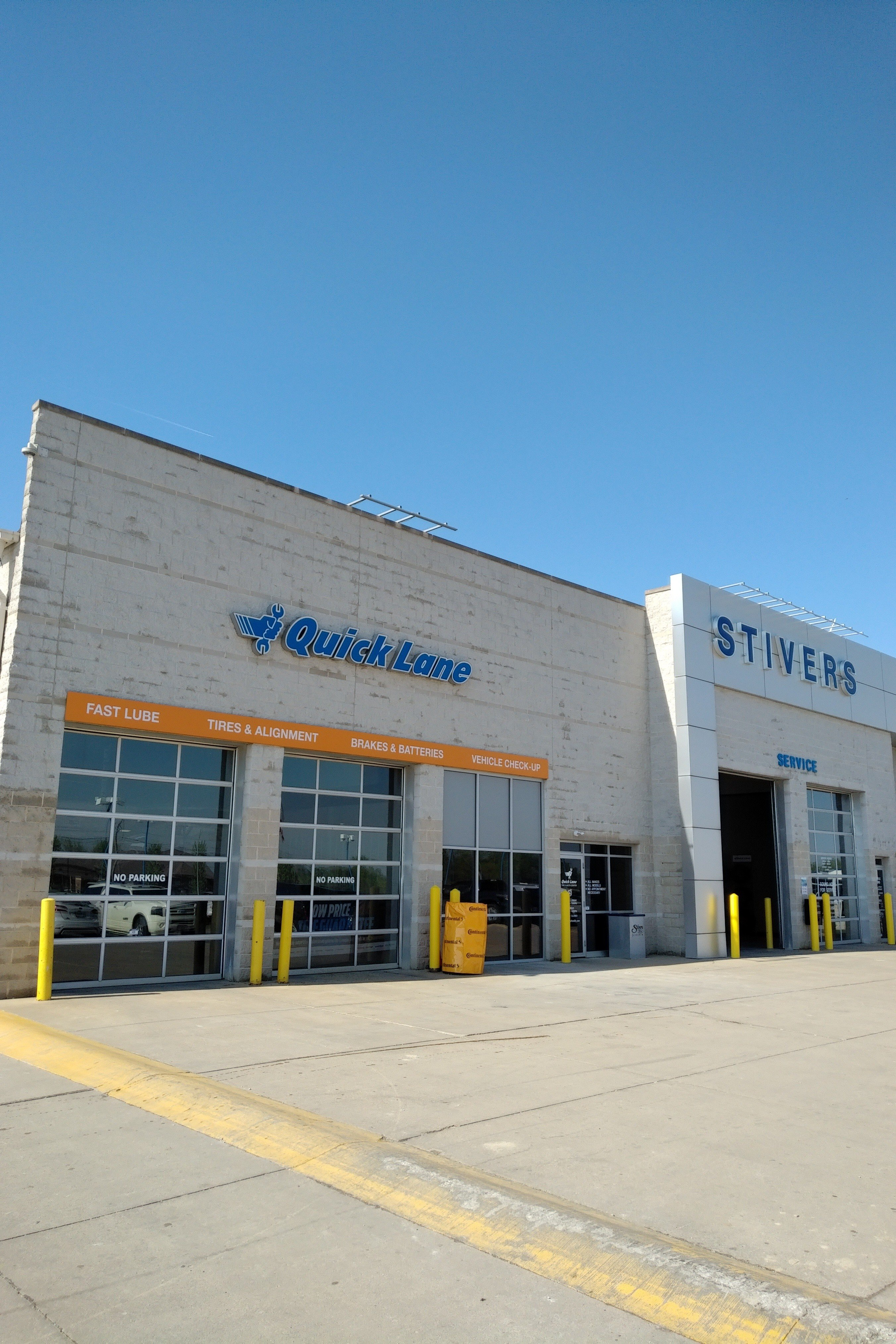 Stivers Quick Lane >> Ford Quick Lane Service Center Near Des Moines Ia