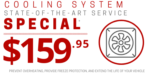 Coupon for Cooling System Service