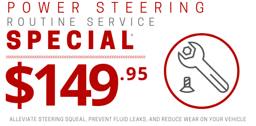 Coupon for Power Steering Service