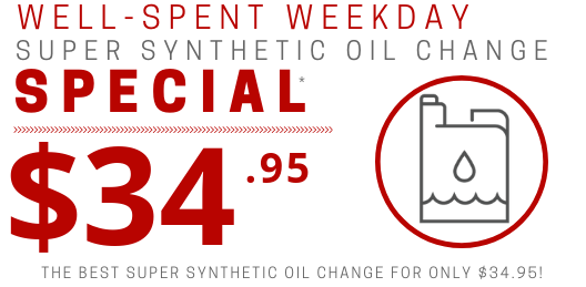 Coupon for Super Synthetic Oil Change Special ONLY $34.95!*