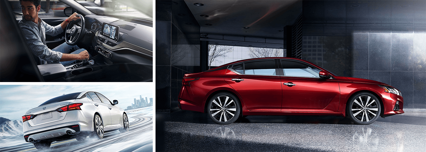 red all new 2019 nissan altima in wilkes-barre