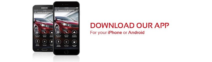 Download our app for your apple or android phone
