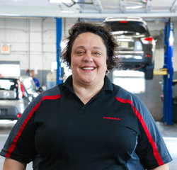 Warranty Administrator Sonia Marletta in Service Team at Sansone Jr's 66 Automall