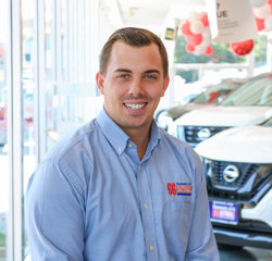 Nissan Sales Consultant Michael Small in Sales Team at Sansone Jr's 66 Automall