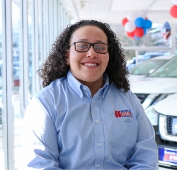 Kia Sales Consultant Melissa Justiniano in Sales Team at Sansone Jr's 66 Automall