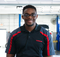 Express Service Advisor Tyquann Maxie in Service Team at Sansone Jr's 66 Automall