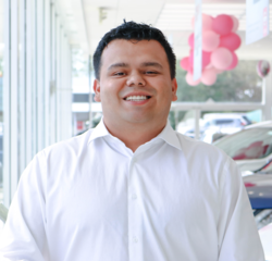 Mitsubishi Sales Consultant Anabal Guzman-Aquino in Sales Team at Sansone Jr's 66 Automall