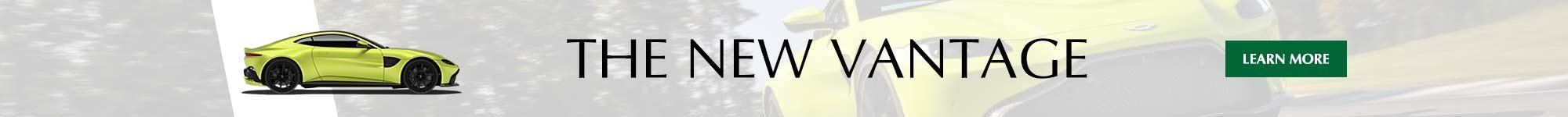 Learn more information about the all new aston martin vantage