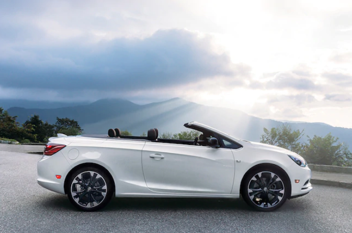 Check out the bold Dark Effects Package available on the 2019 Buick Cascada Convertible.