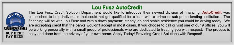 Lou Fusz Buick GMC Credit Options
