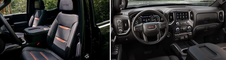 interior of the new 2020 gmc sierra 1500