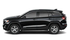 black gmc terrain slc