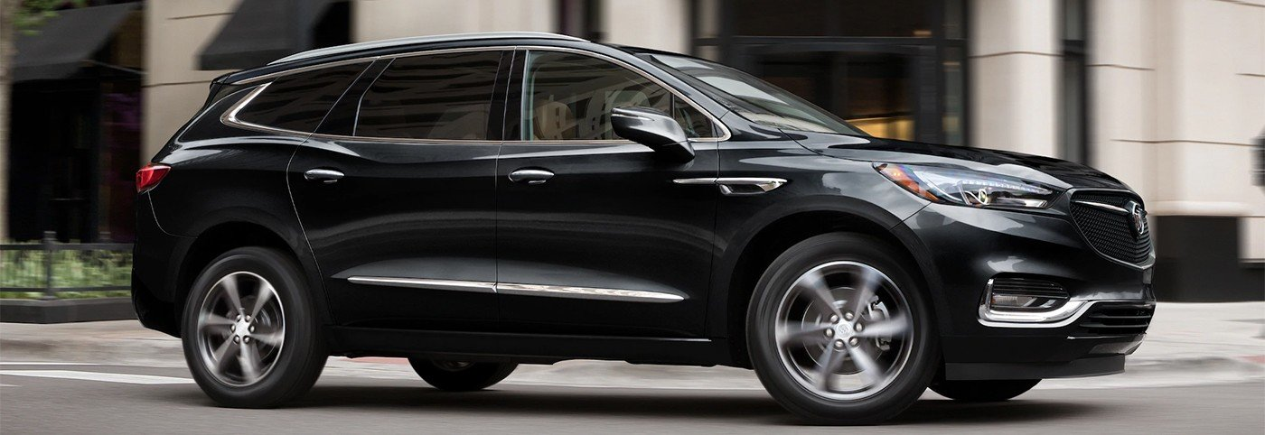 all new 2020 black buick enclave