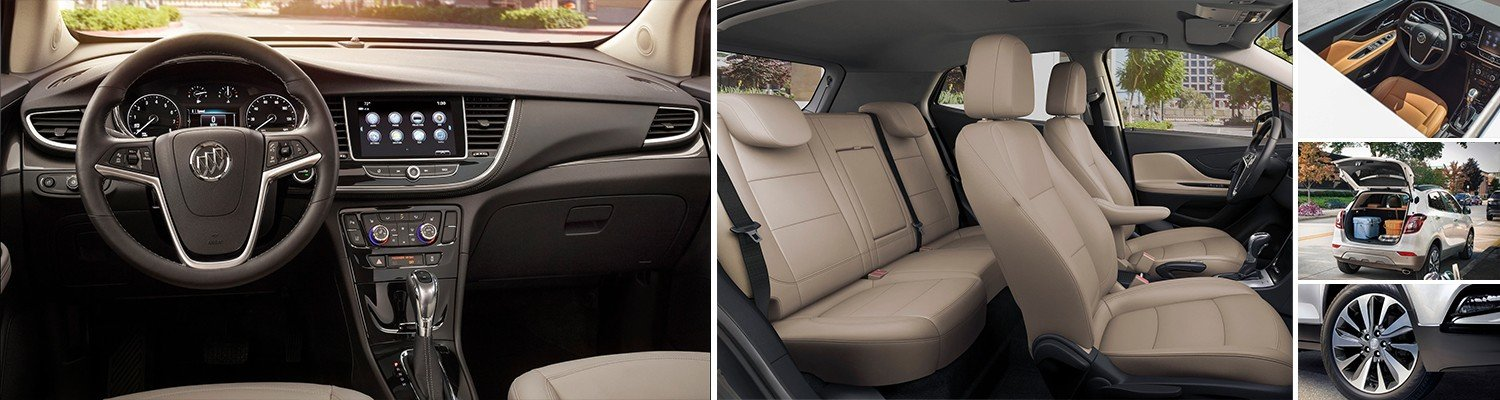 various images of the all new 2020 buick encore
