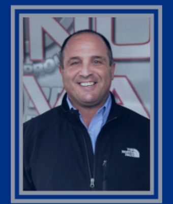 General Manager Joe Falato in Administration at Rock Road Auto Plaza
